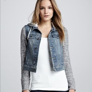 Free people hooded jacket